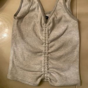 Ambercrombie and Fitch crop top